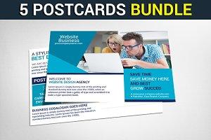 5 Multipurpose Business Postcards