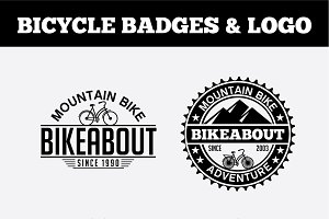 Sport Bicycle Badges & LogoVol1