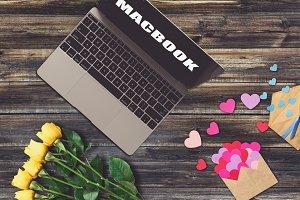 Valentine MacBook Mock-up #2
