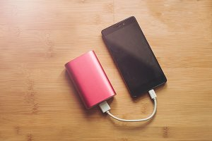 Power bank charges