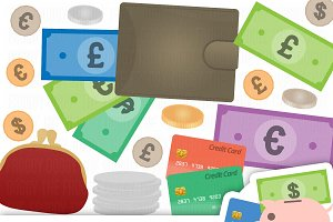 Money Clipart Collection