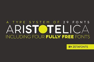Aristotelica - 29 Fonts