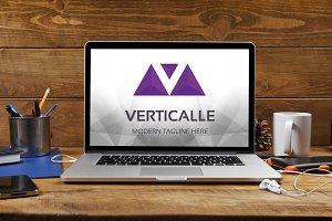 Verticalle (Letter V) Logo