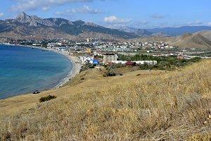 sea Bay in the Crimea