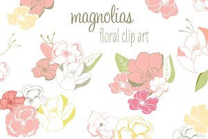 Magnolia Clip Art