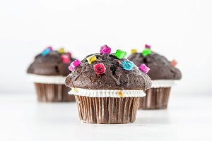 Funny Chocolate Muffins
