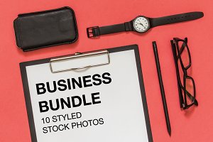 Pink business bundle