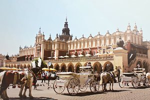 Old Town in Cracow, Poland