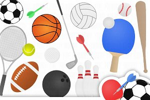 Sports Clipart Collection