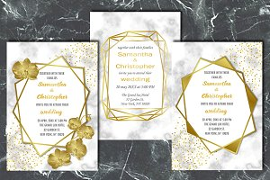 Wedding Luxury Inviration Set