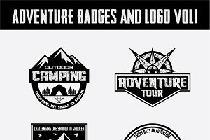 Adventure Badges and Logo Vol1