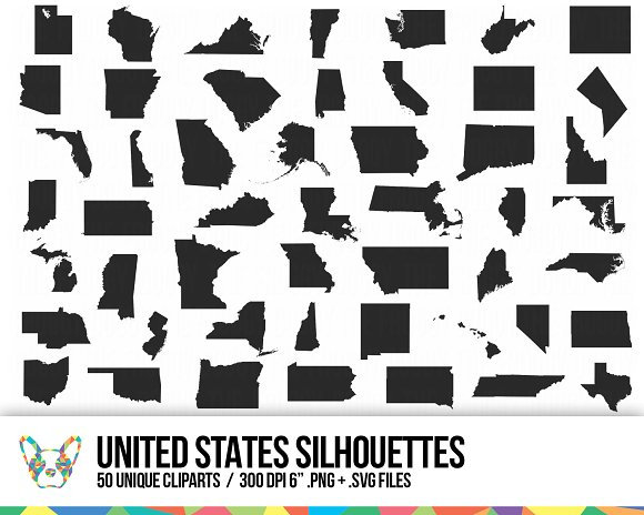 United States Clipart Collection
