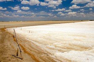 White Salt Flats
