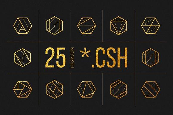 25 Linear Geometric Shapes Part I
