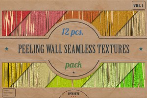 Peeling Wall HD Textures Pack v.1