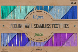 Peeling Wall HD Textures Pack v.2