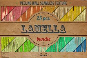 25 Peeling Wall HD Textures Bundle