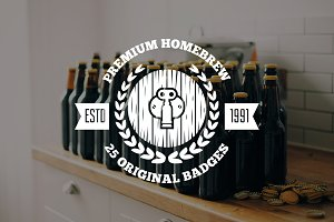 Beer and Homebrew Logos and Badges