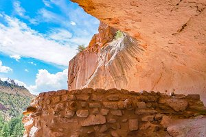 Bandelier Monument in New Mexico