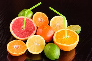 Drinking citrus to the natural