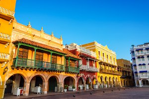 Historic Colonial Facades