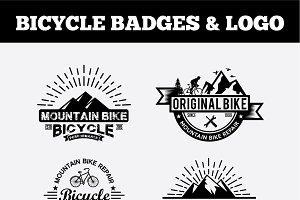 Sport Bicycle Badges & LogoVol2