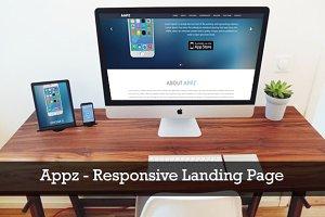 Appz - Responsive Landing Page