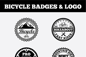 Sport Bicycle Badges & LogoVol3