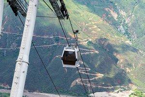 Aerial Tram Vertical View