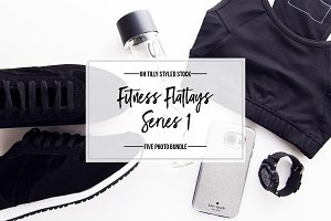 Fitness & Exercise Flatlay Bundle