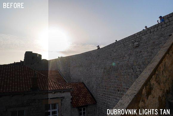 Dubrovnik Lights Lightroom Preset