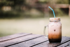 Iced Coffee on a Summer Day