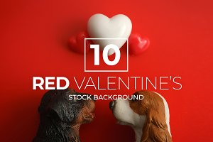 10 Red Valentine's Day Bundle