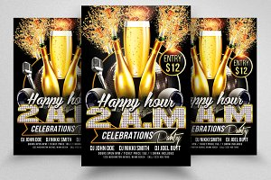 Happy Hour New Flyer Template