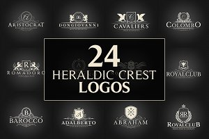 24 Crest Logos Bundle Vol.2