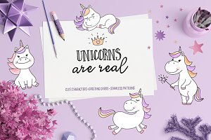 Unicorns Are Real Clipart