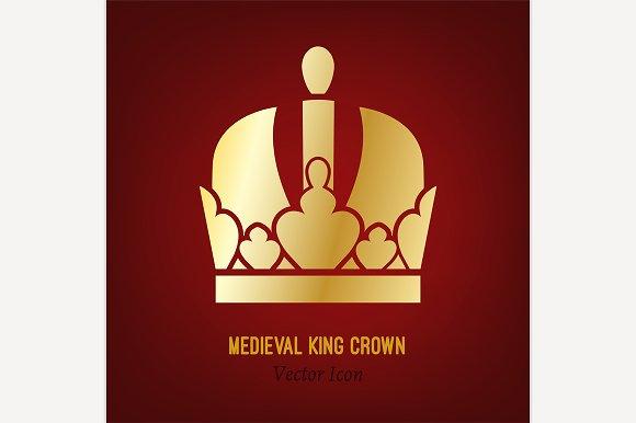 Medieval King Crown