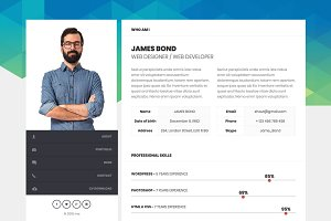 Me - Resume WordPress Theme