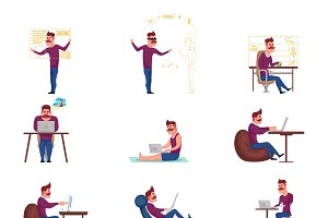Freelance Characters Set