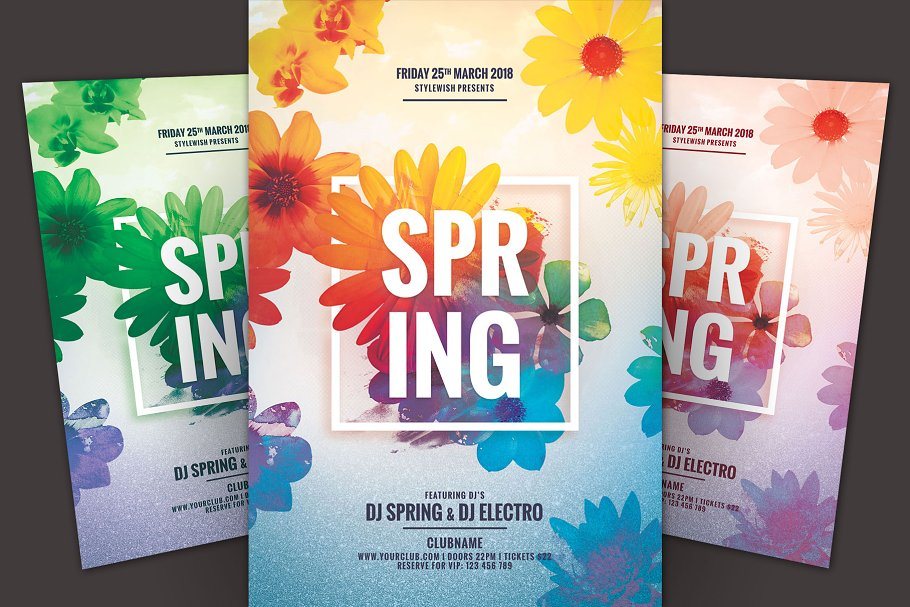 gartnerstudios com invitation templates - spring flyer template image collections template design