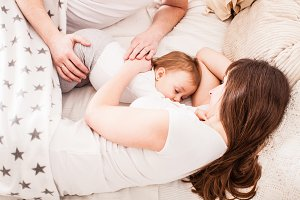 Cosleeping and breastfeeding