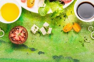 Feta cheese salad dressing