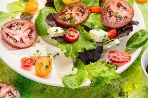 Fresh healthy mix salad