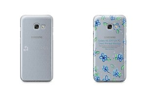 Galaxy A3 2017 UV PC Clear Case