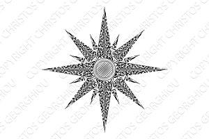 Star Abstract Illustration