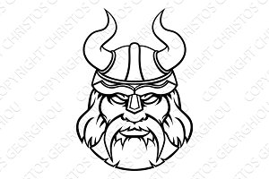 Warrior Viking Sports Character Mascot