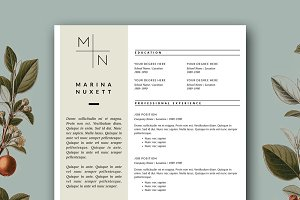 Resume Template 3 Pack | CV Template