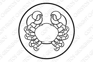 Crab Cancer Horoscope Birth Sign