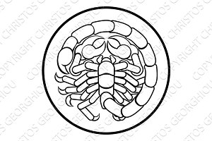 Scorpio Scorpion Zodiac Horoscope Sign