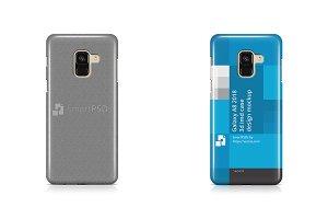 Galaxy A8 2018 3d IMD Case Mockup